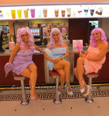 Coolest Cotton Candy Girls Costumes