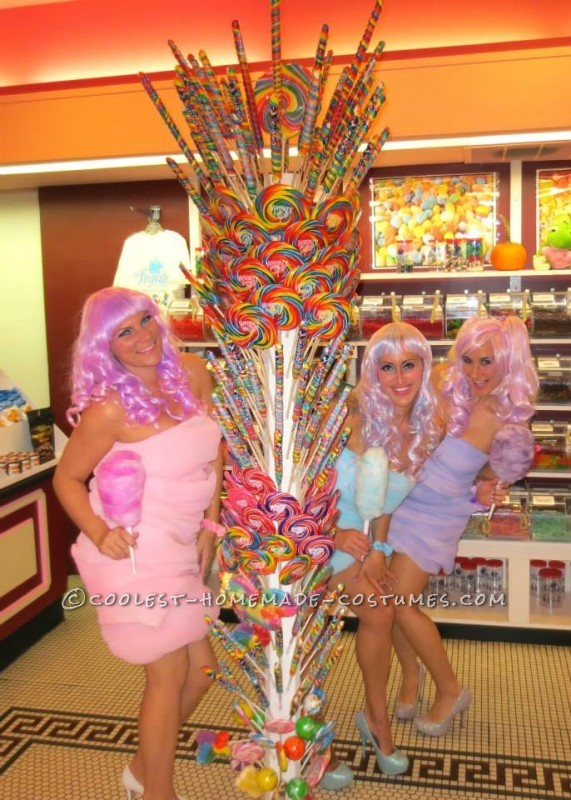 Coolest Cotton Candy Girls Costumes - 4