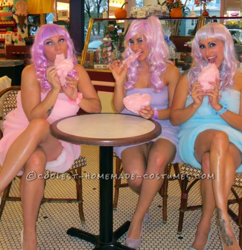 Coolest Cotton Candy Girls Costumes - 6