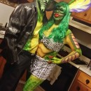 Coolest Homemade Gremlin Couple Costume