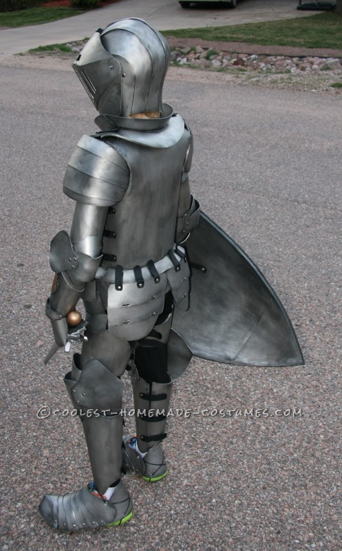 Coolest Kid\u0027s Medieval Knight DIY Halloween Costume