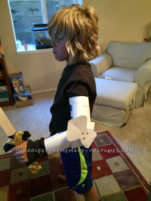 Coolest Kid's Medieval Knight DIY Halloween Costume