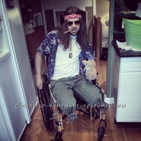 Coolest Lieutenant Dan Costume - Forrest Gump