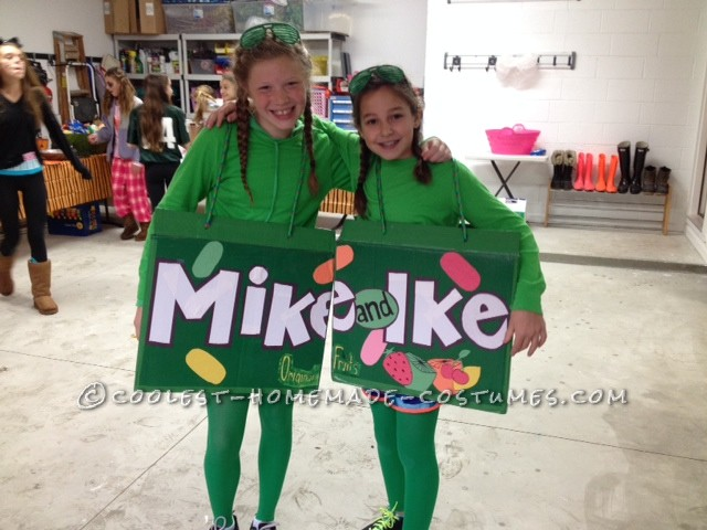 Coolest Mike And Ike Couple Costume For Kids