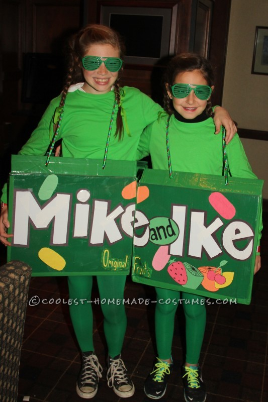 Coolest Mike and Ike costume for two