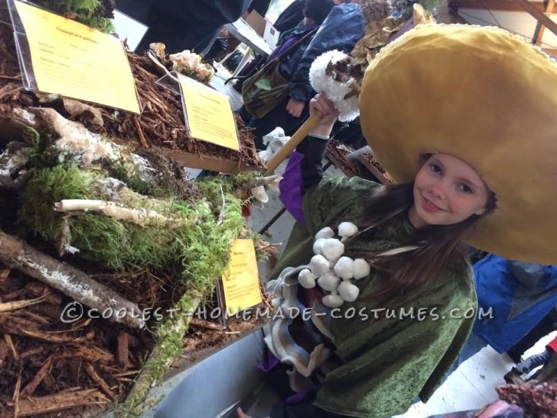 At the mushroom festival