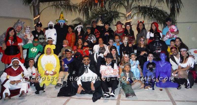 Halloween Party with my family!
