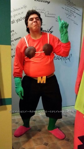 Coolest Sandy Cheeks, Mermaid Man and Patrick Star Group Costume