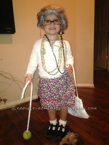 Coolest Lil Granny Toddler Costume