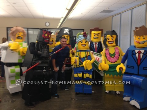 Corporate LEGO Minifigure Costumes Extravaganza