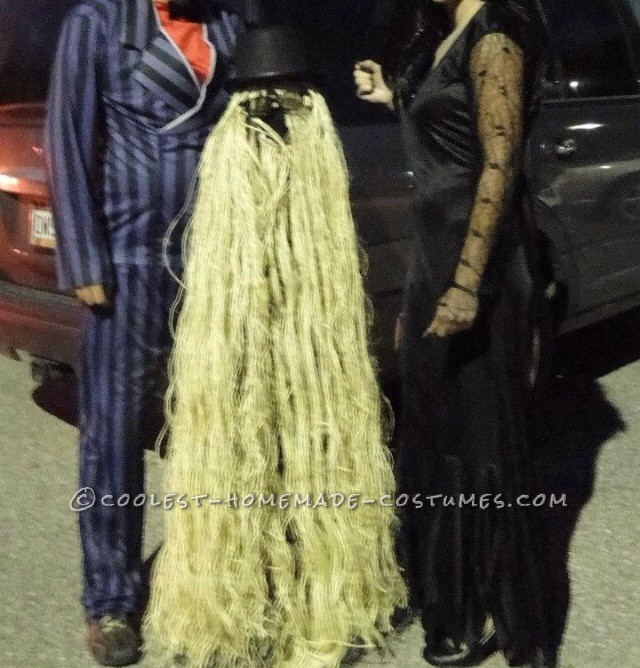 Picture with Morticia and Gomez