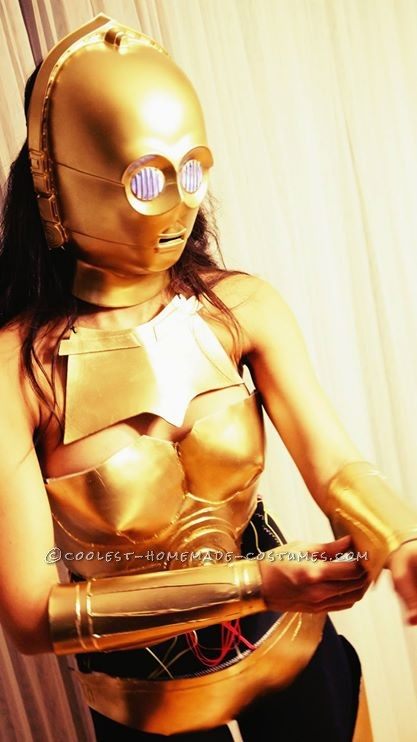 Crafty C3PO Costume
