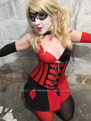 Crazy Adorable Harley Quinn Costume