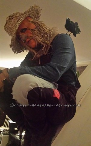 Creepy Scarecrow Joe Costume