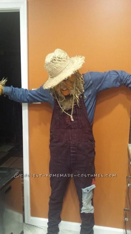 Creepy Scarecrow Joe Costume - 1