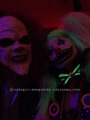 Creepy Clown Couple Costume