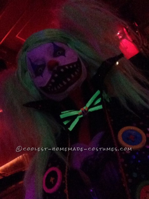 Creepy Clown Couple Costume - 2