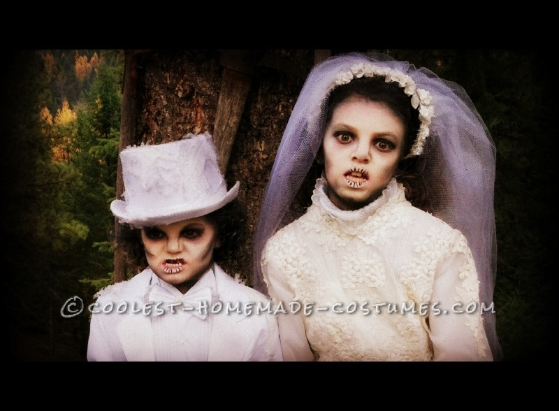 Creepy Victorian Ghost Costumes - 3