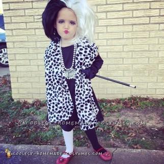 Sweet Cruella De Vil Costume