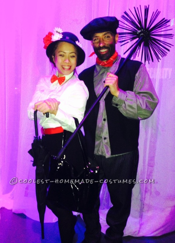 Custom DIY Mary Poppins Costume