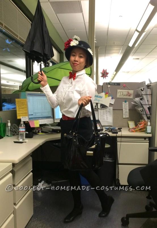 Custom DIY Mary Poppins Costume - 1