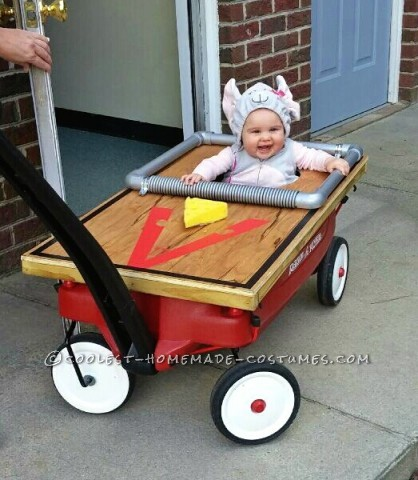 Cutest Baby Mouse/Mousetrap Costume