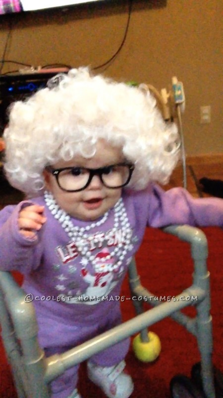 Cutest Little Old Lady Baby Costume - 3