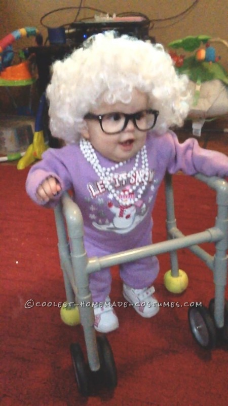 Cutest Little Old Lady Baby Costume - 2
