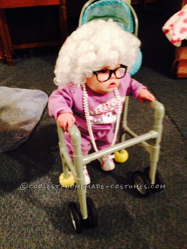 Cutest Little Old Lady Baby Costume
