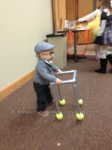 Cutest Little Old Man Costume for a Toddler