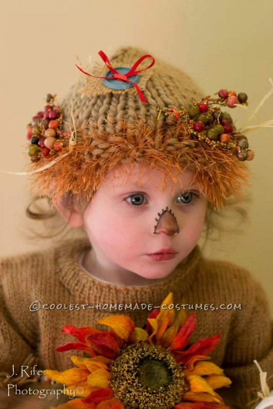 Cutest Scarecrow Costume Ever for a Toddler - 1