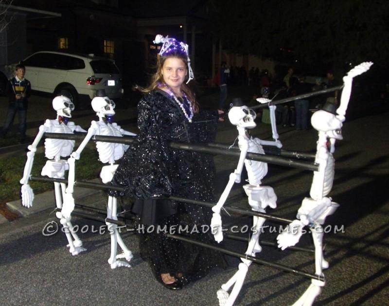 Dancing Queen of the Dead Costume Idea