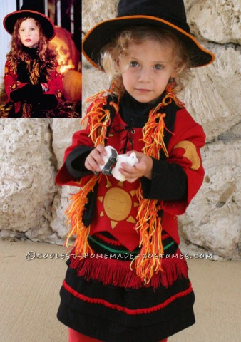 Darling Dani from Hocus Pocus Costume for a Toddler