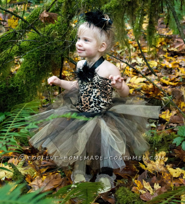 Homemade Easy and Darling Pebbles Costume