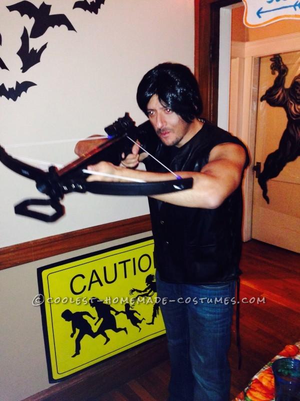 Daryl Dixon hunting walkers