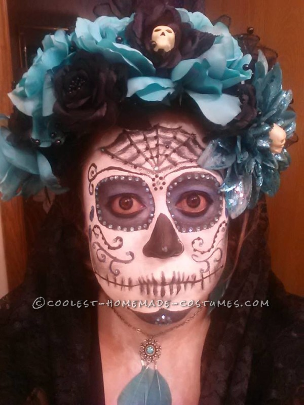 Homemade Day of the Dead Couple Costume - 3