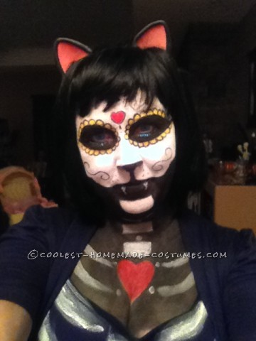 Original Day of the Dead Cat Costume