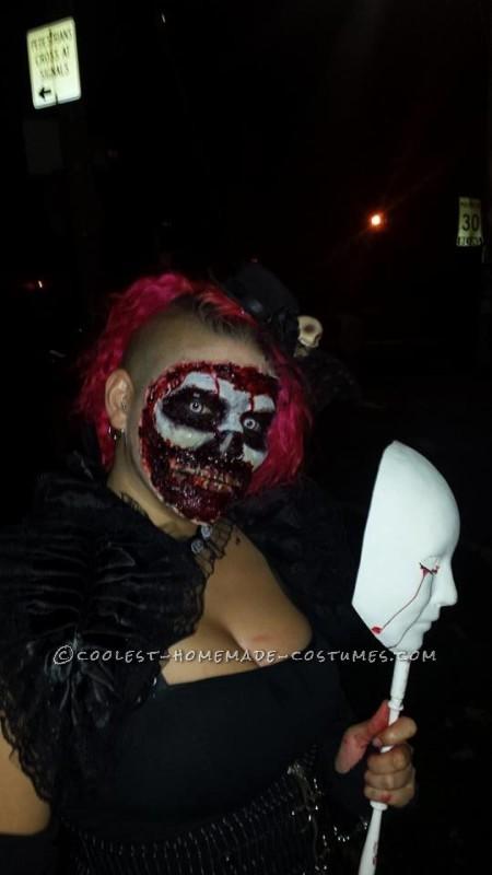 Dead Masquerade Zombie Couple Costume - 2
