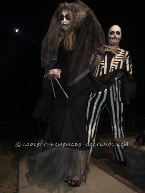 Death Can't Part Us Skellington Costumes