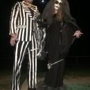 Death Can't Part Us Skellington Costumes