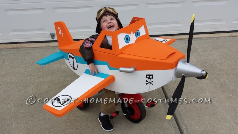 Disney Planes Dusty Crophopper Tricycle-mounted with Pilot Costume - 1