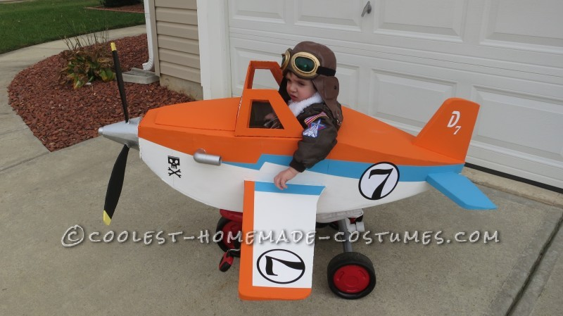 Disney Planes Dusty Crophopper Tricycle-mounted with Pilot Costume - 2