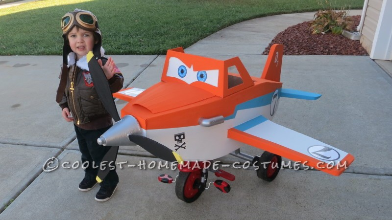 Disney Planes Dusty Crophopper Tricycle-mounted with Pilot Costume - 3