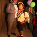 Homemade Up Characters - Russell and Carl Couple Costume