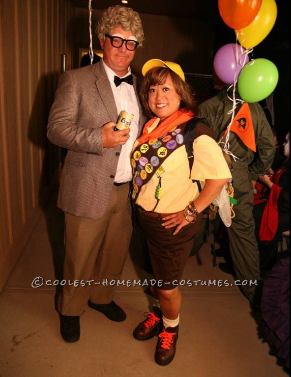 Homemade Up Characters – Russell and Carl Couple Costume