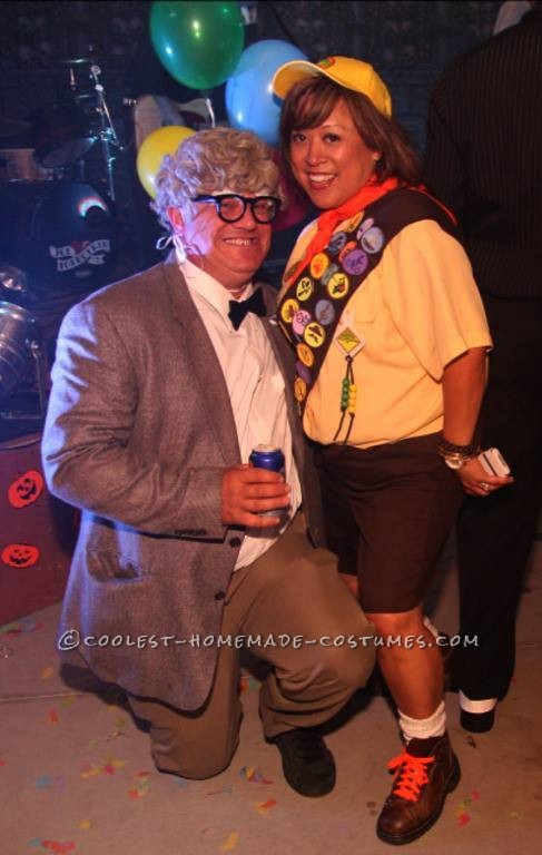 Homemade Up Characters – Russell and Carl Couple Costume - 1