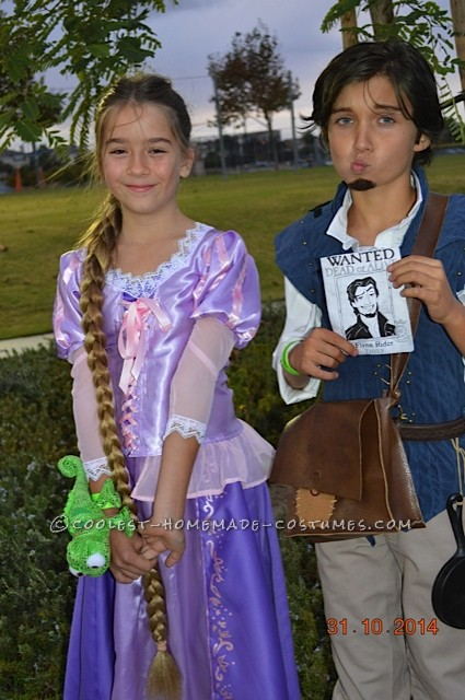 Disney's Cutest Couple Costume - Rapunzel and Flynn Ryder from Tangled