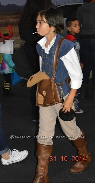 Ryan Veronick as  Flynn Rider  from Disney's Tangled