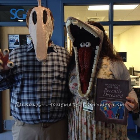 DIY Beetlejuice Adam and Barbara Maitland Costumes