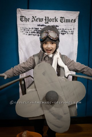 DIY Amelia Earhart Costume with a Twist
